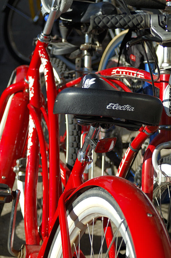 Red Bike 28991 Photograph
