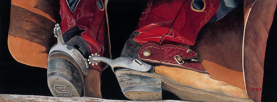 Red Boots by JK Dooley