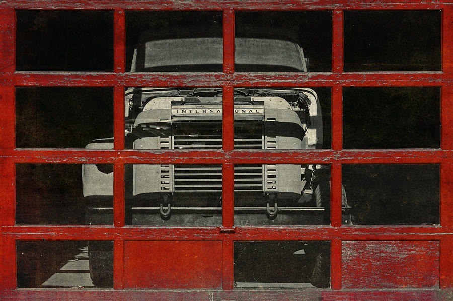 Trucks Photograph - Red Cage by Jeff  Gettis