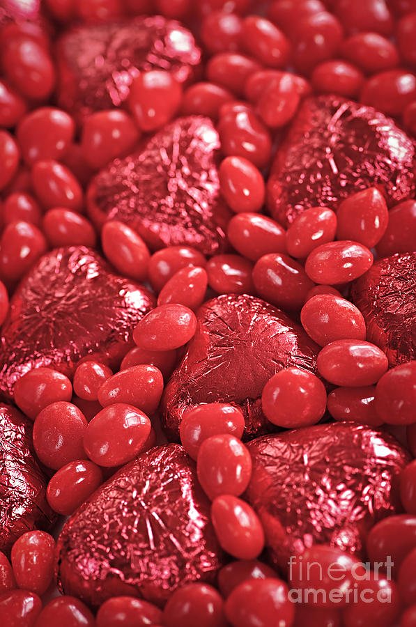 Candy Photograph - Red Candy by Elena Elisseeva