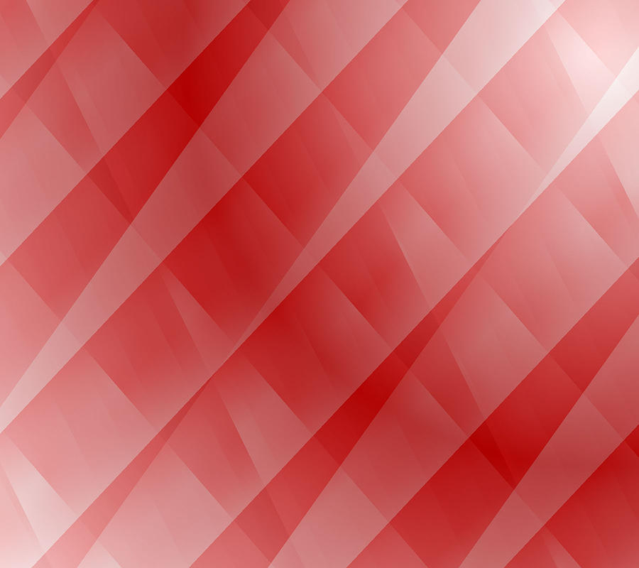 Abstract Digital Art - Red by Cathie Tyler