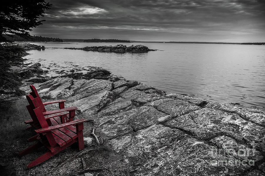 Red Chairs Photograph