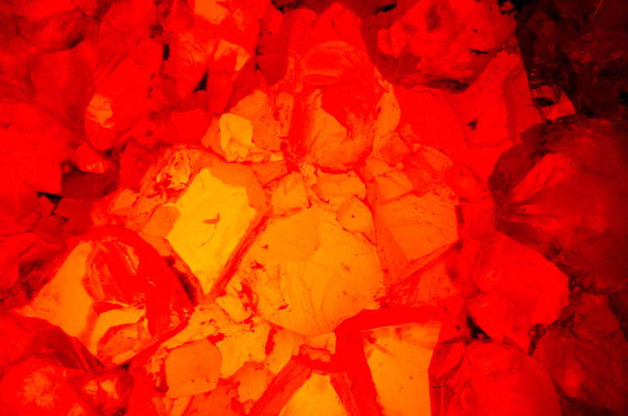 Red Crystal 1 Photograph