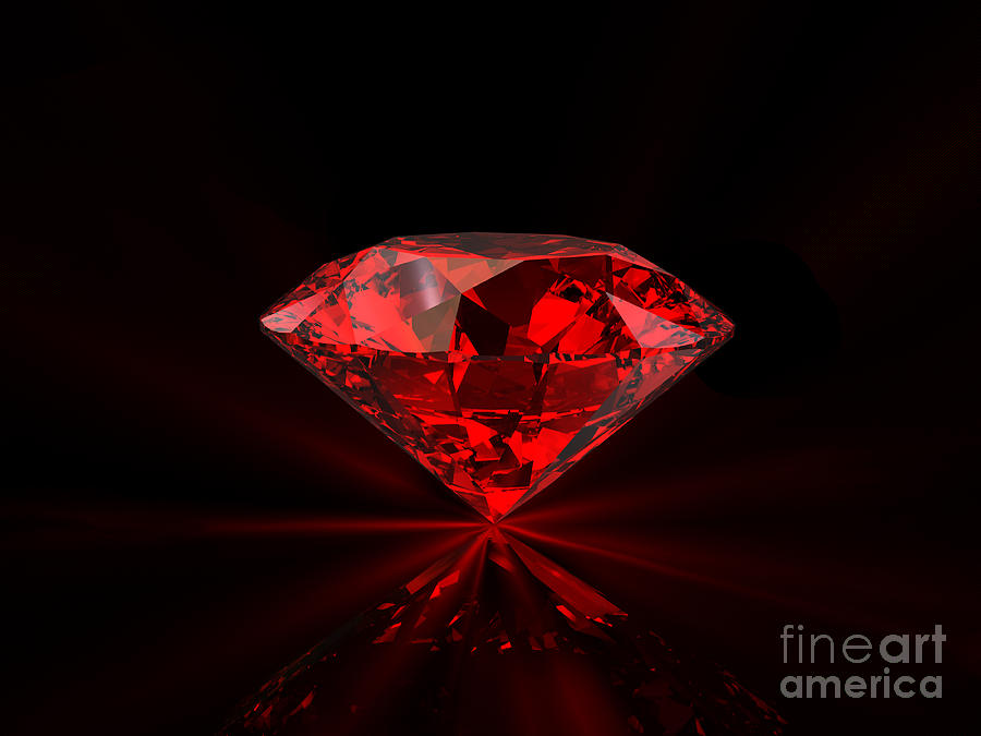 diamond halo red upon oval in once a white with gold ring cabochon ruby products diamonds