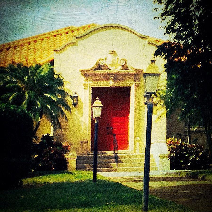 Red Door Photograph - Red Door 1 by Beth Williams