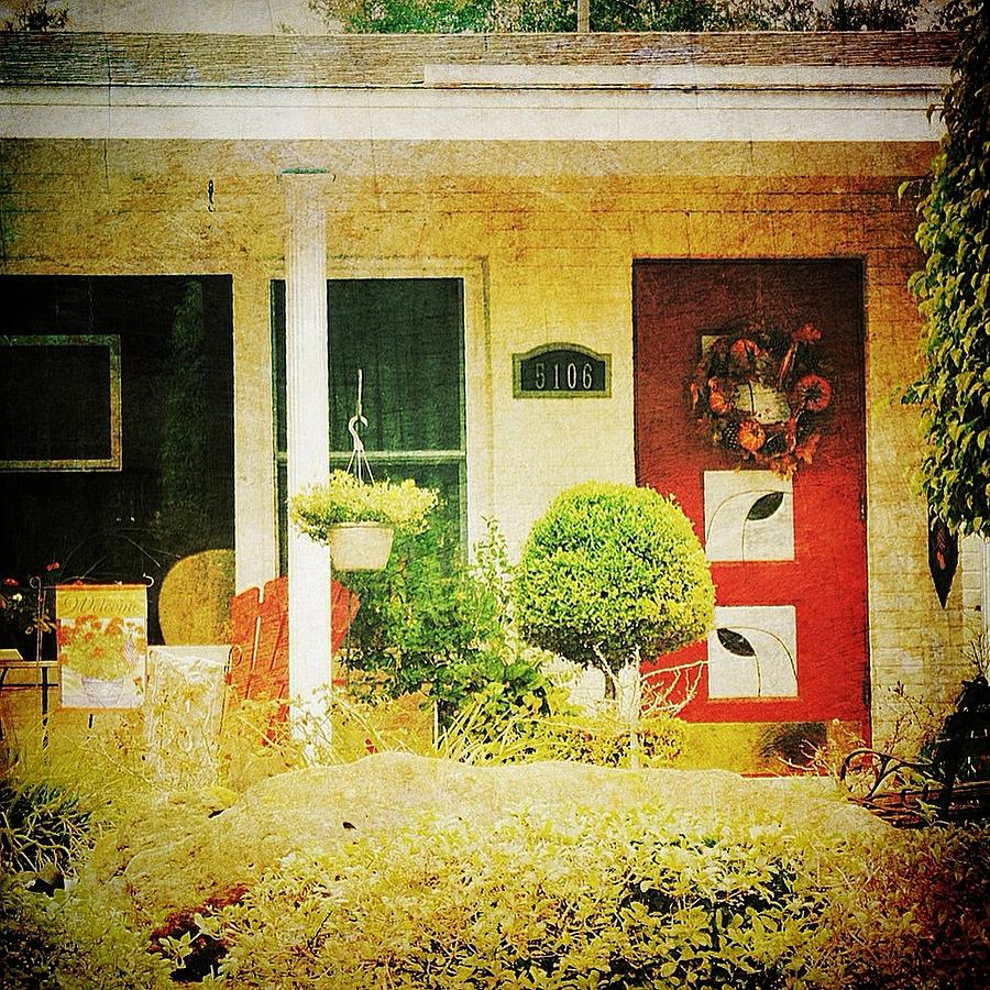 Red Photograph - Red Door 5 by Beth Williams