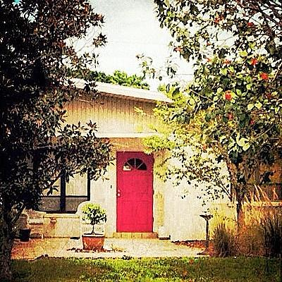Red Photograph - Red Door 6 by Beth Williams