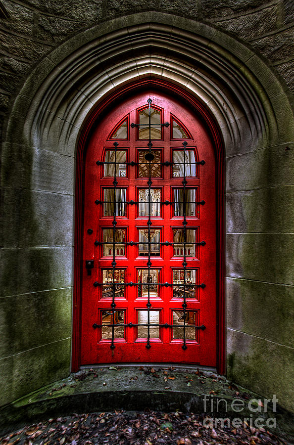 Red Door by Morbid Images