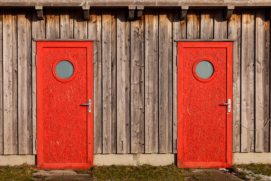 Red Door or Red Door by Andy Bitterer
