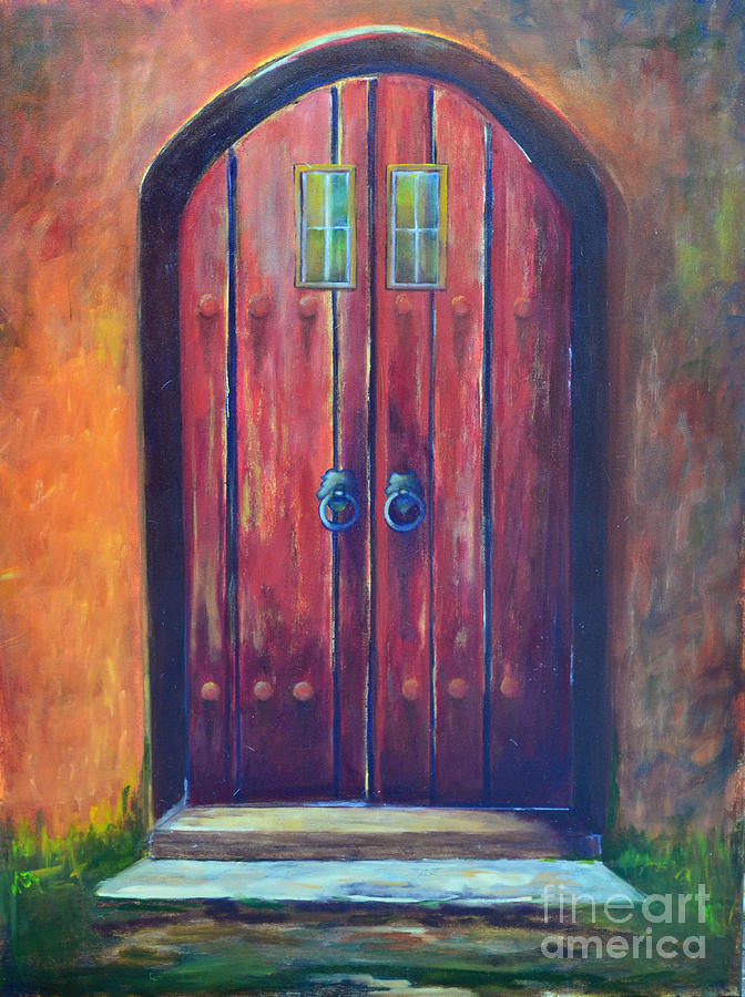 Acrylic Paintings Of Doors