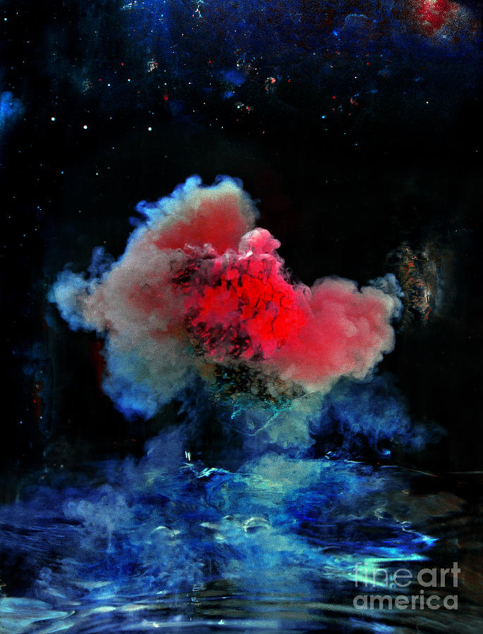 Abstract Photograph - Red Dwarf by Petros Yiannakas