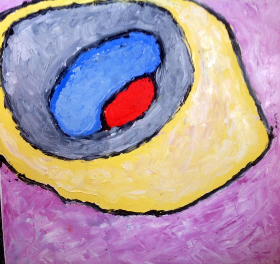 Red Eye Painting by Richard Fletchet