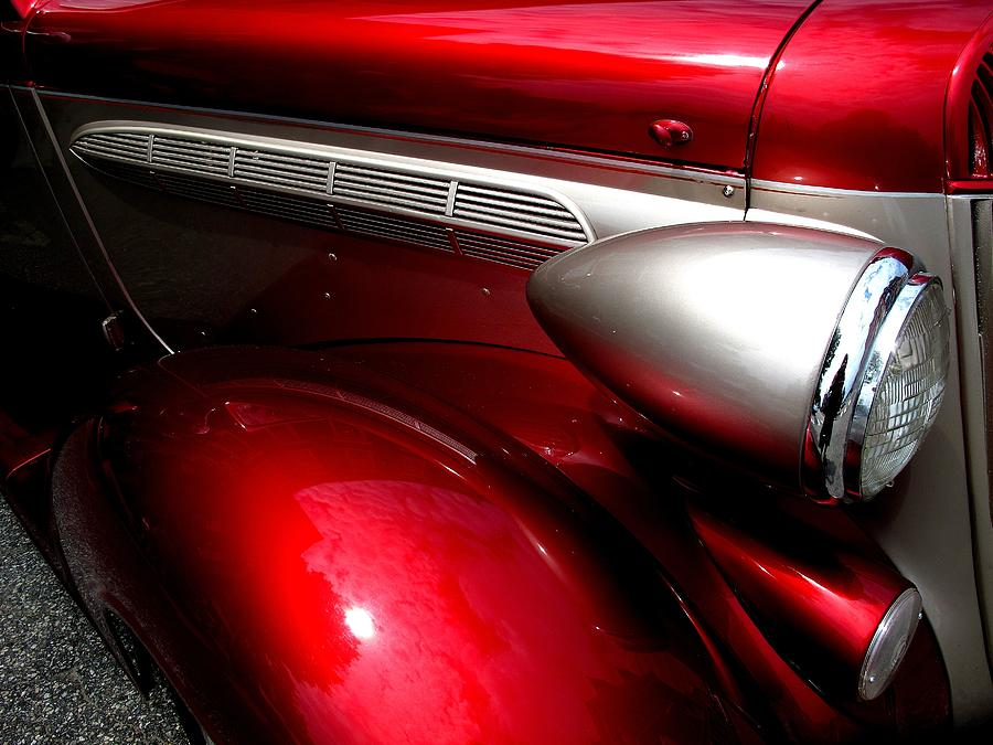 Red Fender Photograph