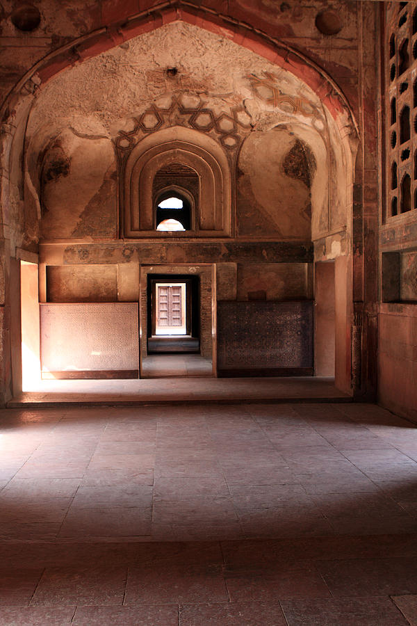 India Photograph - Red Fort Agra India by Aidan Moran