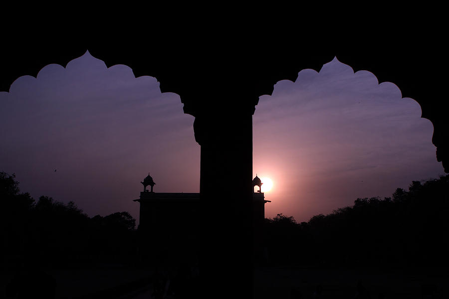 India Photograph - Red Fort Arches - New Delhi - India by Aidan Moran
