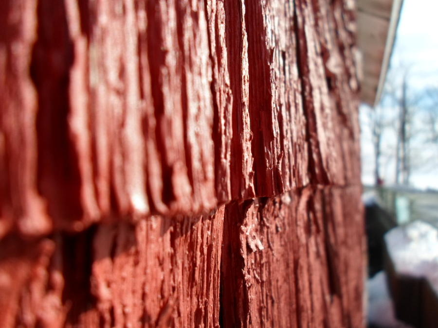 Red Photograph - Red Gristmill by Jenna Mengersen