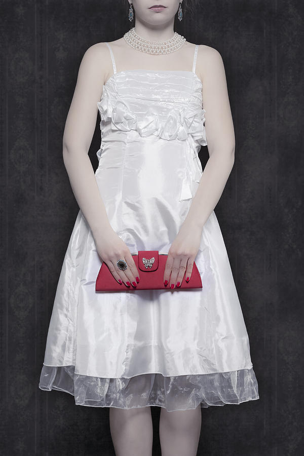 Woman Photograph - Red Handbag by Joana Kruse
