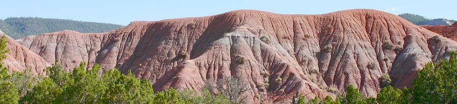 New Mexico Landscape Photograph - Red Hills by Look Visions