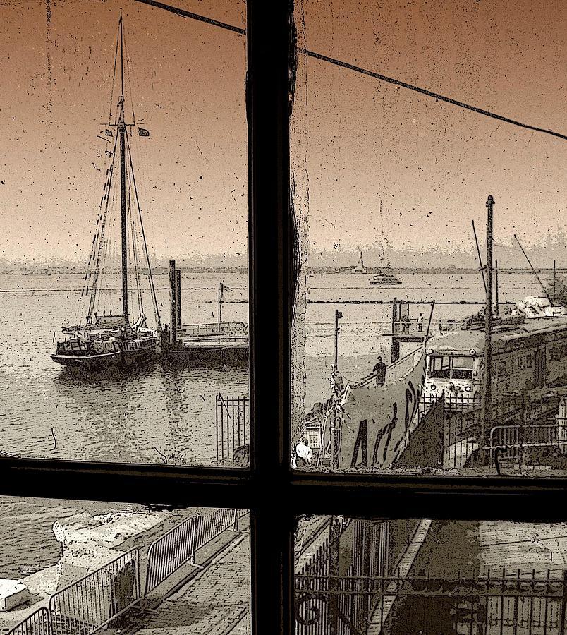 New York Photograph - Red Hook Window by Jeff Watts