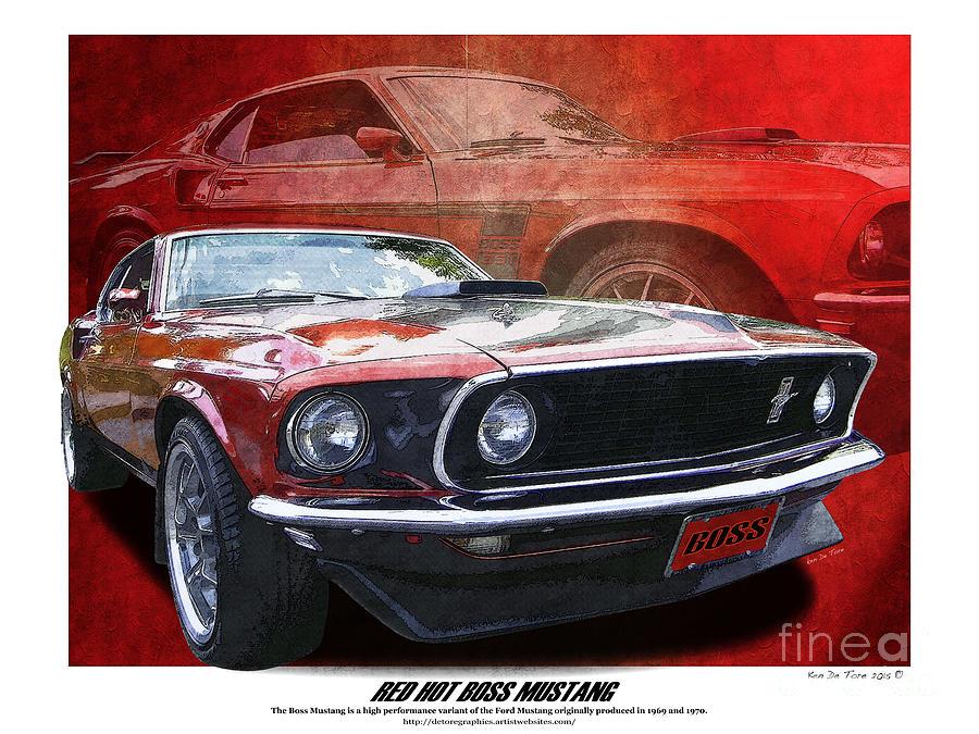 Boss Mustang by Kenneth De Tore