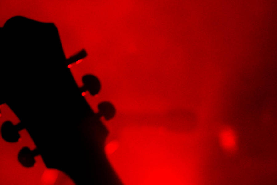 Bass Photograph - Red Light District by KBPic