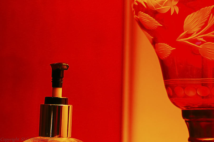 Red Photograph - Red Light District by Stacie  Goodloe