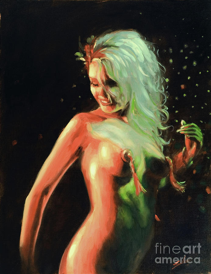 Paintings Painting - Red Light Green Light by John Silver