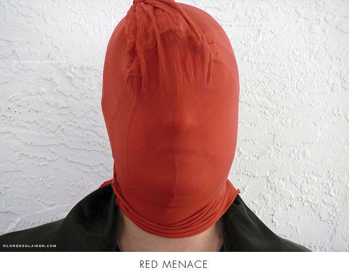 Stocking Photograph - Red Menace by Lorenzo Laiken