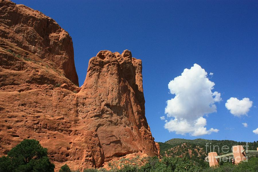 Colorado Photograph - Red Mountain Garden Of The Gods  Colorado by Robert D  Brozek