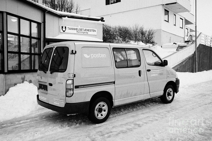 395445bf9bff4f Red Norwegian Post Collection Delivery Hiace Van Vehicle Norway Europe. Joe  Fox