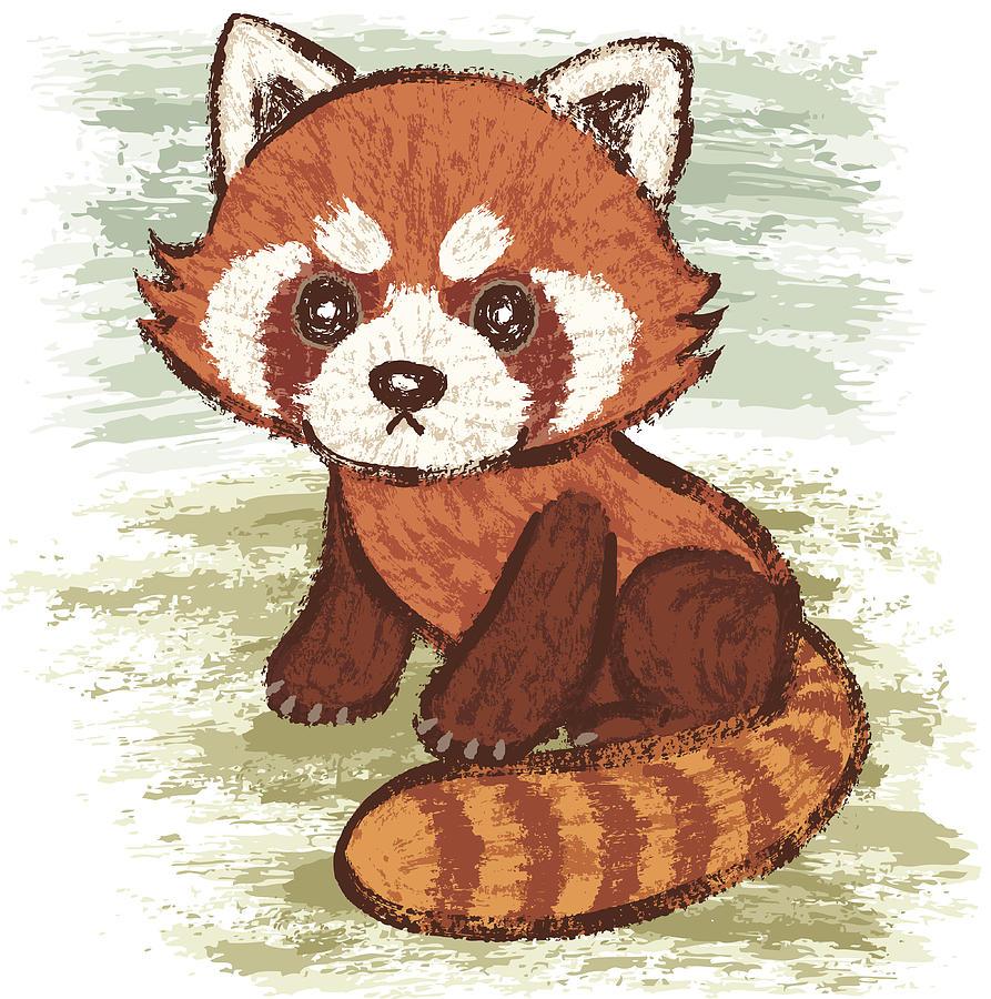 Red Panda Digital Art by Toru-sanogawa