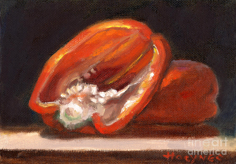 Red Pepper Painting - Red Pepper by Addie Hocynec