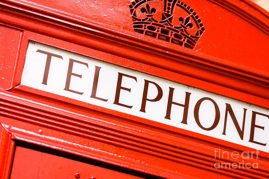 London Photograph - Red Phone Box by Andy Myatt