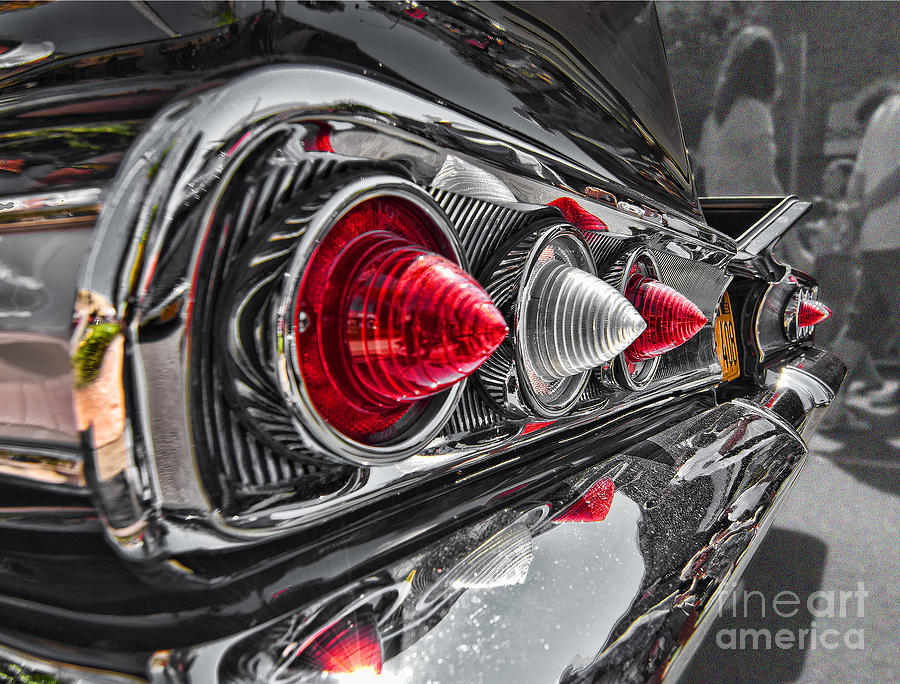 Chevy Photograph - Red Reflection by Hot Rod Pics