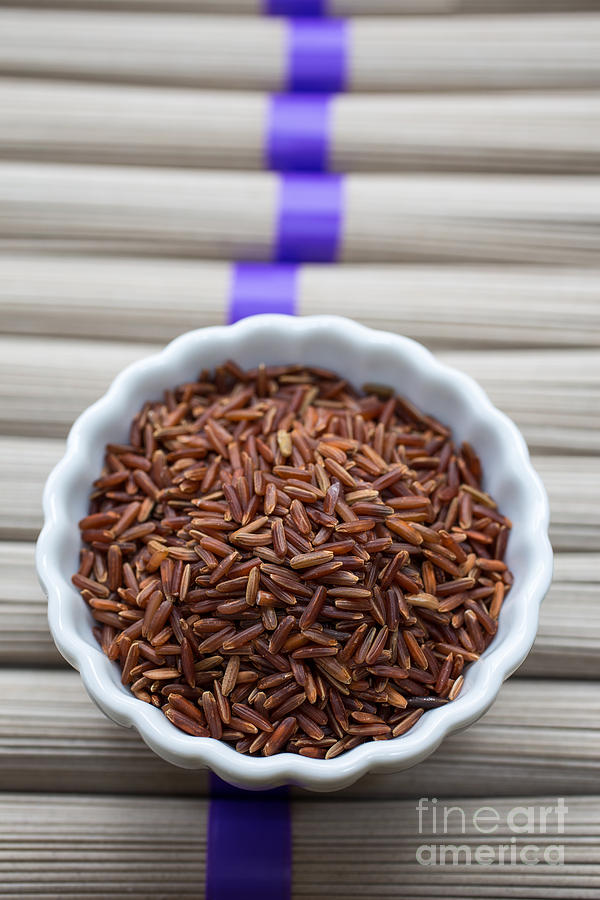 Chinese Photograph - Red Rice by Edward Fielding