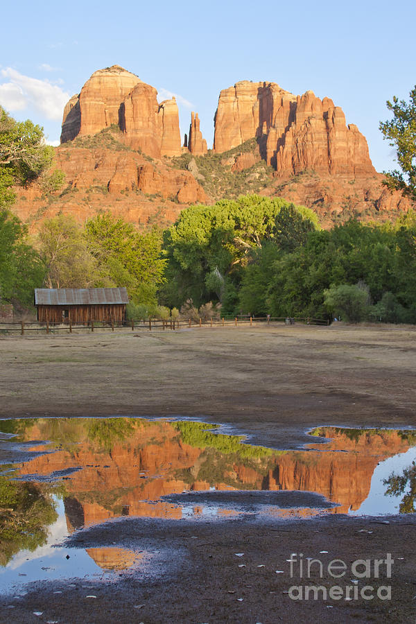 Nature Photograph - Red Rock Crossing by Ruth Jolly