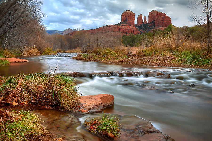 Red Rock Crossing Photograph - Red Rock Crossing by Ryan Smith