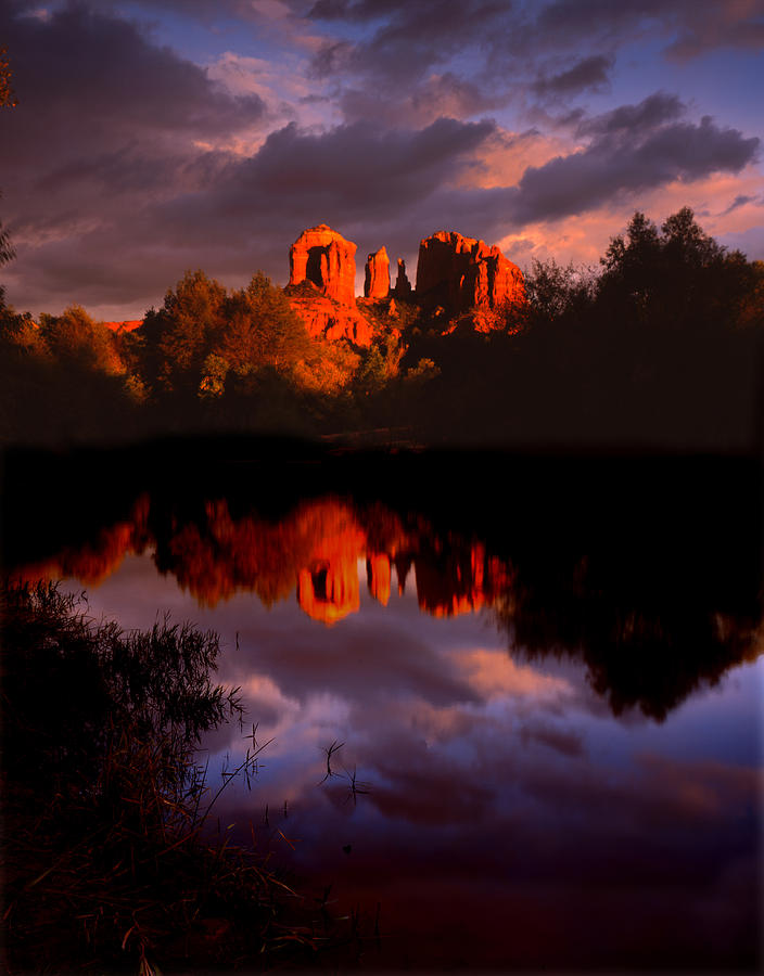 Sedona Photograph - Red Rock Crossing Sedona by Ray Mathis