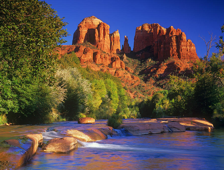Sedona Photograph - Red Rock Crossing by Timm Chapman