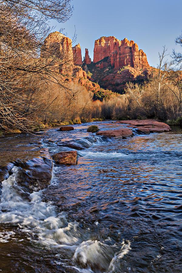 Arizona Photograph - Red Rock Crossing Winter by Mary Jo Allen