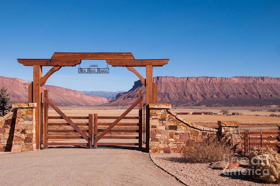 Bob Kendrick Photograph - Red Rock Ranch by Bob and Nancy Kendrick