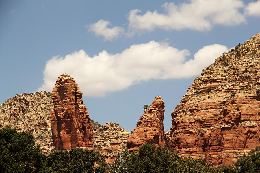 Red Rock Sedona Arizona Mountain Photograph by Sassy1902