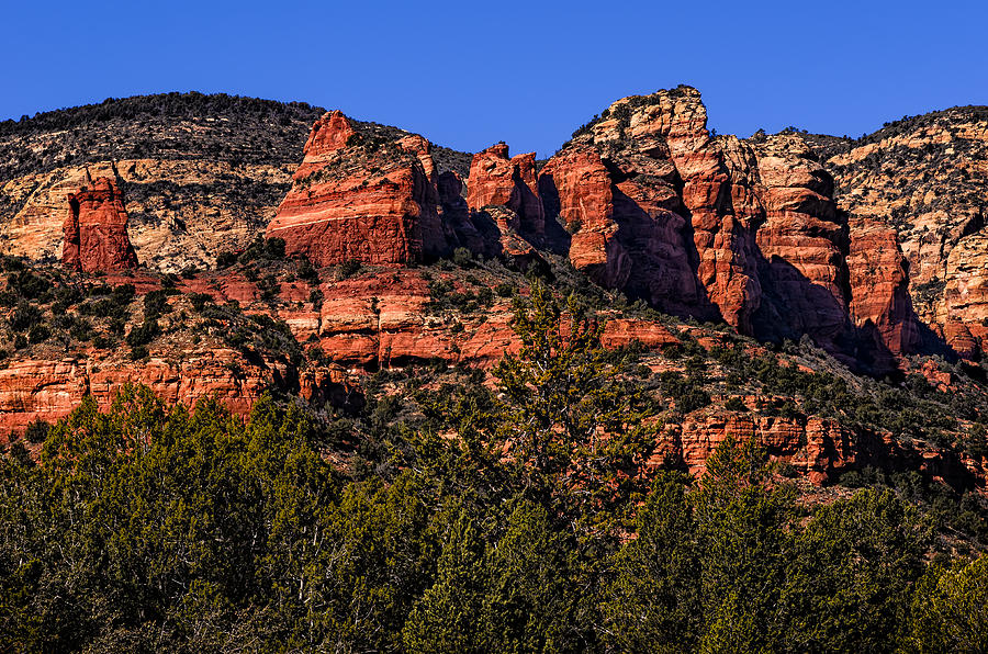 Red Rock Sentinels Photograph
