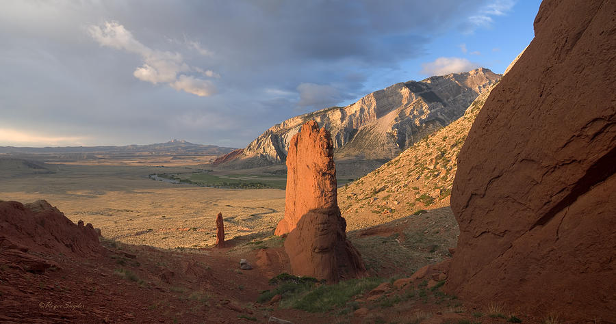 Beautiful Photograph - Red Rocks 6 by Roger Snyder