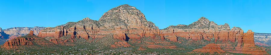 Sedona Photograph - Red Rocks by Paul Fell