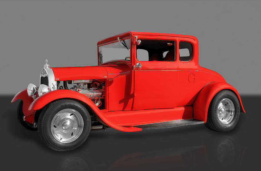 Show Car Photograph - 1930 Ford by Frank J Benz