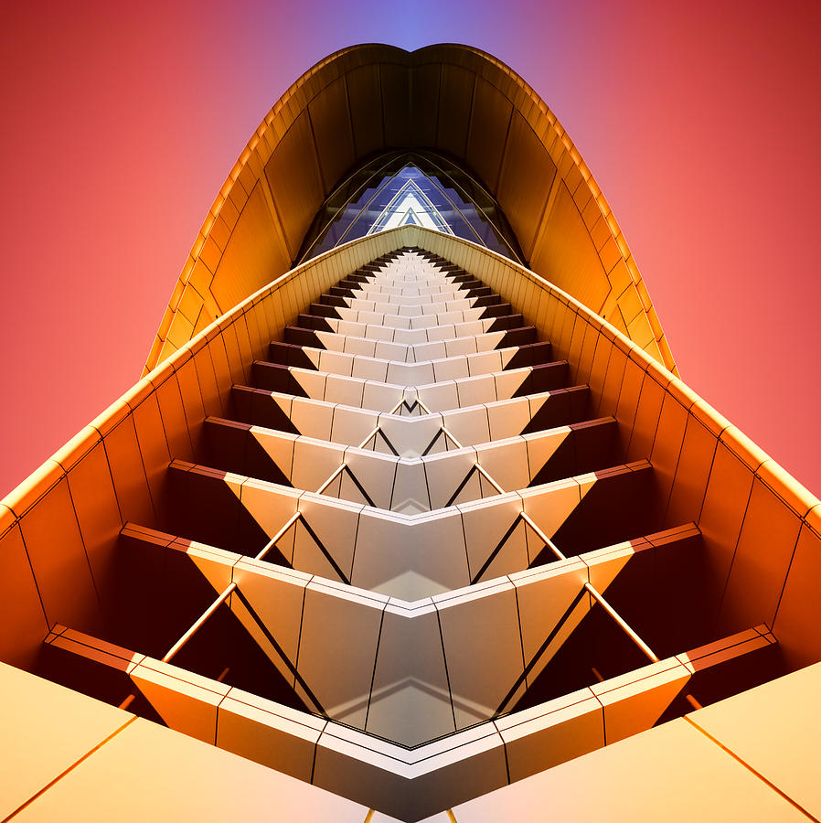 Abstract Photograph - Red Shift by Wayne Sherriff