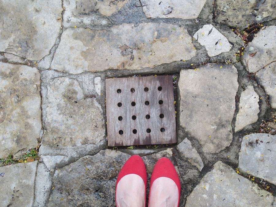 Shoes Photograph - Red Shoes by Gia Marie Houck