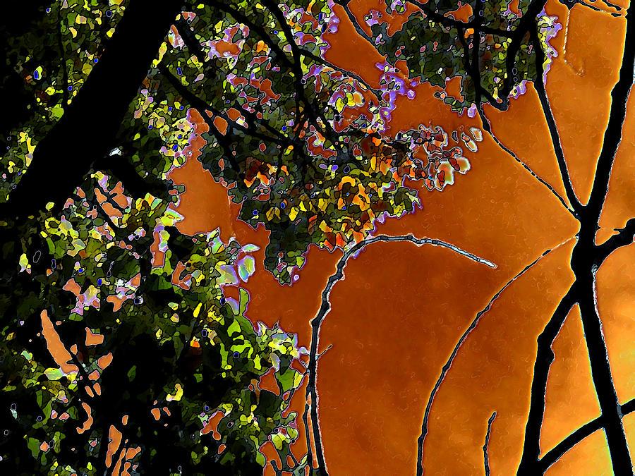 Red Skies Of Home Digital Art