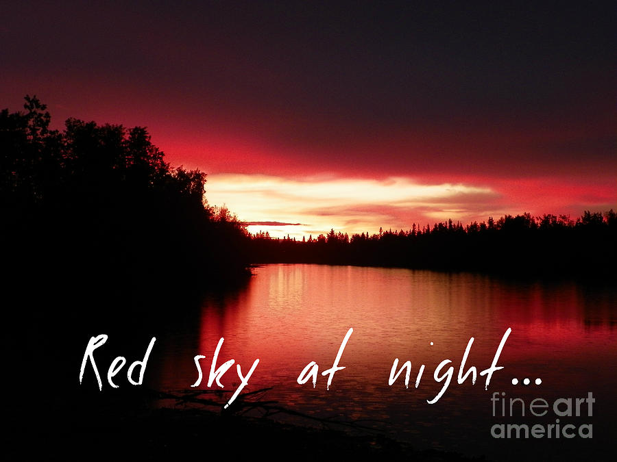 Red Photograph - Red Sky At Night by Jennifer Kimberly